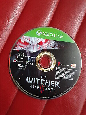 the witcher 3 wild hunt xbox one disc only
