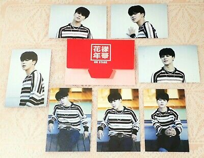 JIMIN BTS Official Mini Photocard HYYH On Stage 2015 limited edition Full set