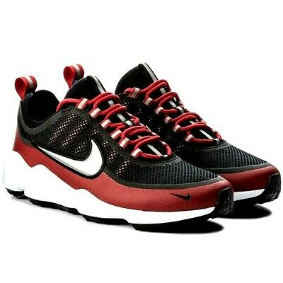 Nike Zoom Spiridon Shoes Black Red Mens Size 13 New 876267-005 Sprdn