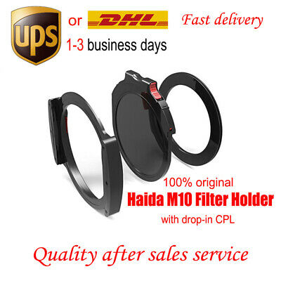 Haida M10 Filter Holder Kit with drop-in CPL Polarizer & Adapter Ring