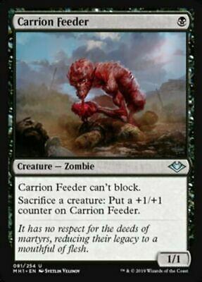 Carrion Feeder Modern Horizons Magic The Gathering MTG Uncommon NM/M