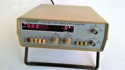 Voltcraft Cn 3165 High Resolution Counter Frequency Counter 50 1000 MHZ