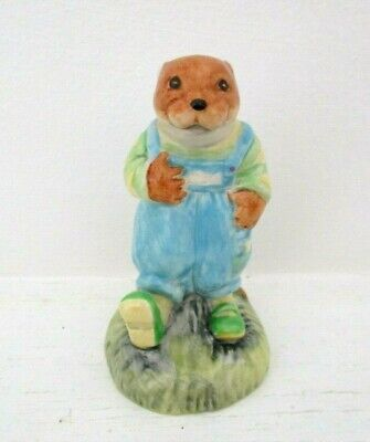 Very Rare Royal Albert Wind In The Willows Figurine - Portly - Perfect !!