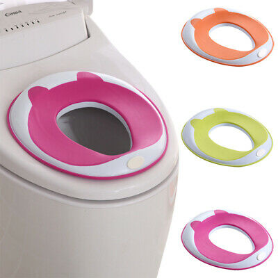 Cushion Safe Portable Non Slip Toilet Training Seat Bathroom Baby Trainer Ring