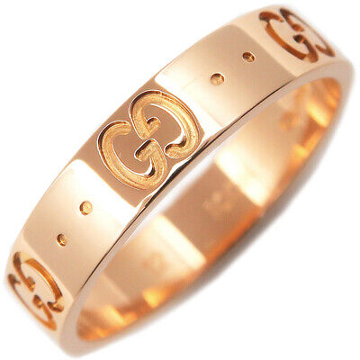 c6a00dc99 Gucci Icon 18k Yellow Gold Band ring YBC0316008.