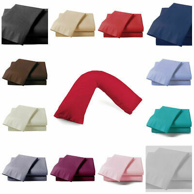 V Shaped Pillow Case Cover - Nursing Pregnancy Maternity Orthopaedic Support
