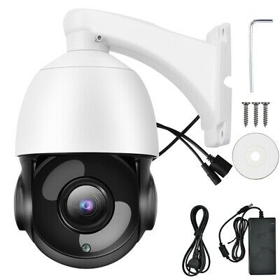 2MP Zoom 30X Telecamera IP Speed Dome All'aperto Webcam PTZ 100-240 V