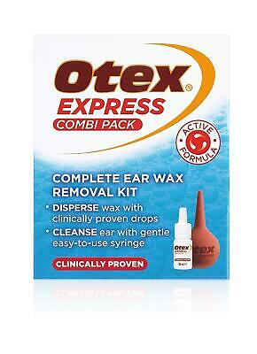 Advanced, Dual Action Ear Wax Treatment Complete Ear Wax Removal Kit