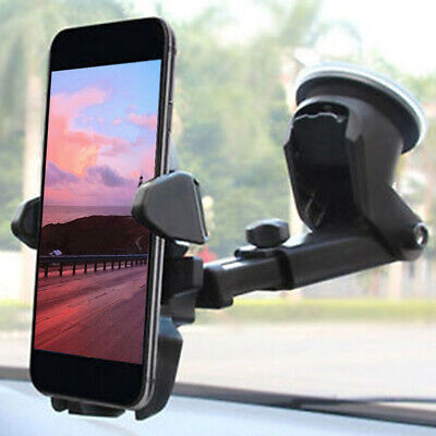 360 Rotatable Car Windscreen Suction Cup Window Mount Phone Holder Bracket Stand