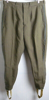 Soviet Army Daily Uniform Vintage Officer Pants Galife Trousers USSR