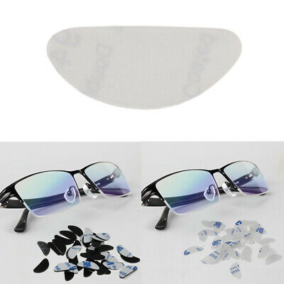 40x Hypo-allergenic Adhesive Silicone Anti-Slip Nose Pads Grips Eyeglass Glasses