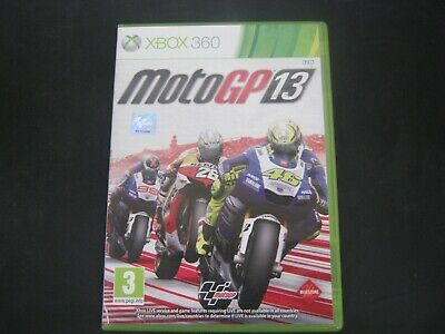 Xbox 360 Pal 2ND Game MOTOGP 13 with Box