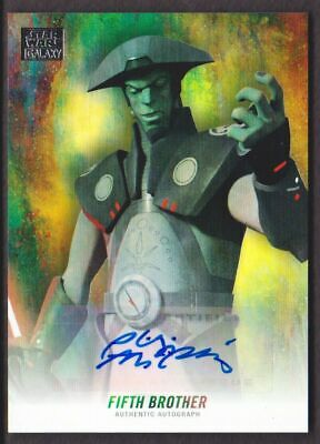 Star Wars Galaxy 2018 - Autograph Card as Fifth Brother Auto - NM