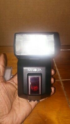 Minolta Program 3600 HS D Flash w/ Case
