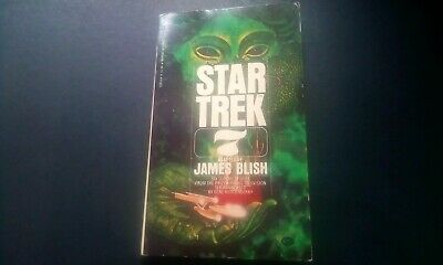 Star Trek, 7, By James Blush,1977, Paperback Book, US Bantam Books.
