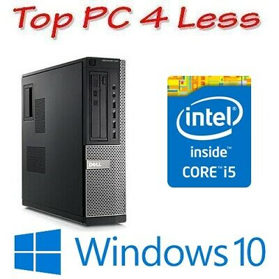 Dell Optiplex 9010 Desktop PC Computer Core i5 3470 4GB 250GB  DVD Win 10 Pro