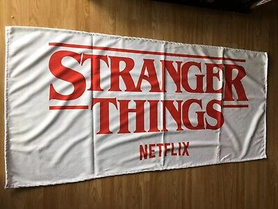 Stranger Things Towel, Canvas Bag, Stickers & Poster New Official Merch
