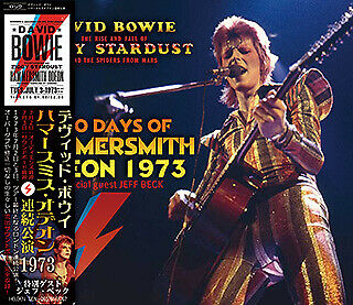 David Bowie 1973 Two Days Of Hammersmith Odeon 3Cd