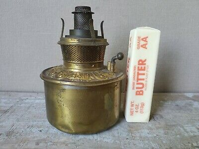 "B&H 4"" OIL TANK kerosene oil lamp PARTS VICTORIAN antique BANQUET font MINIATURE"