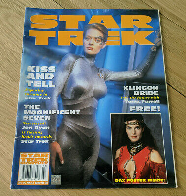 Star Trek Monthly Official Magazine March 1998 Issue #37 Collectible