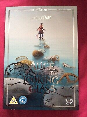 Alice Through The Looking Glass Dvd Sleeve