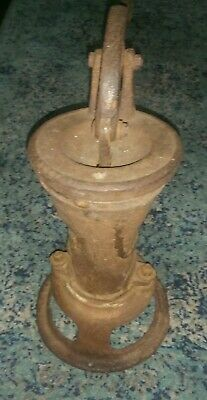 ANTIQUE WATER WELL PUMP. P3A 1882.33. Vintage Cast Iron.