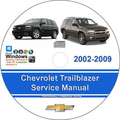 chevrolet trailblazer 2002 2003 2004 2005 2006 2007 2008 2009 service manual