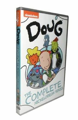 Doug The Complete Nickelodeon Series Cartoon DVD Free Shipping From US