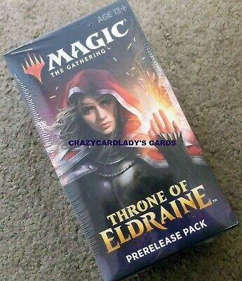 Magic The Gathering Throne Of Eldraine  Prerelease Kit Pack Buy More & Save