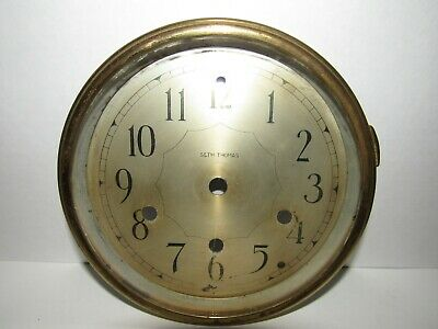 Antique Seth Thomas Westminster Chime Clock Dial