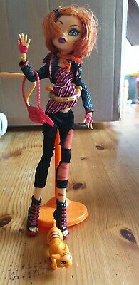 Monster High Dolls - Toralei Stripe First 1st Wave - With Pet