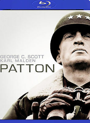 Patton (Blu-ray Disc, 2009, 2-Disc Set) New Factory Sealed