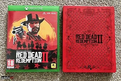 Red Dead Redemption 2 - Special STEELBOOK Edition (Xbox One, 2018)