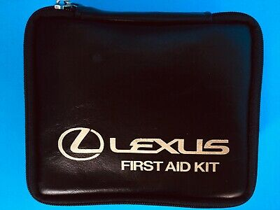 Vintage Lexus 1985 First Aid Kit With All Originally Included  Supplies Oem