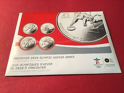 2010 Vancouver Winter Olympics Special Edition 2007 Coin Set