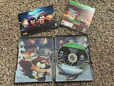 South Park The Fractured But Whole Steel Book With Stick Of Truth Code Xbox One