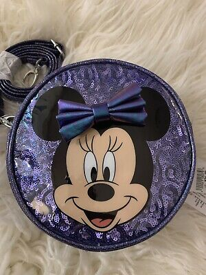 Disney Minnie Mouse Potion Purple Crossbody Bag for Kids Disney Parks New