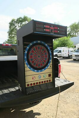 Nice Valley Cougar 9 button Commercial Coin Operated wall mount Dart Board #1