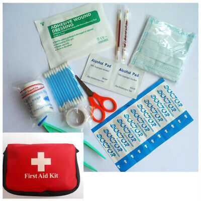 New Mini Outdoor Camping Hiking Survival Travel Emergency First Aid Kit Bag