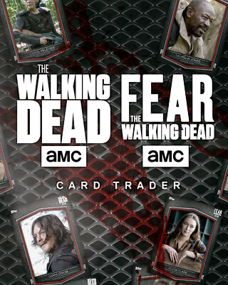 Topps The Walking Dead Trader YOU PICK 9 - TONS OF GOOD CARDS!