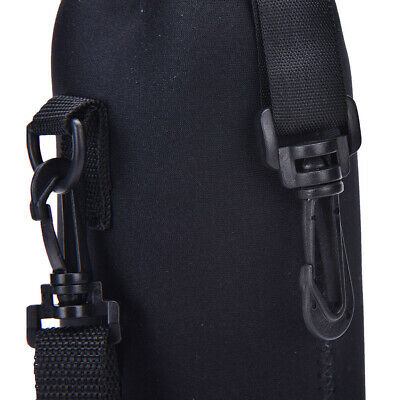 1L Water Bottle Carrier Insulated Cover Bags Holder With Strap Pouch Outdoor New