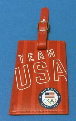 Tokyo Japan 2020 Summer Olympics - U.s. Olympic Team Official Luggage Bag Tag