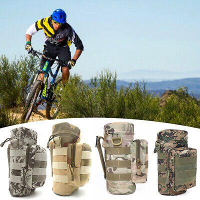 Large capacity!Water Bottle Carrier Insulated Bag Holder W/ Strap Pouch,Outdoor