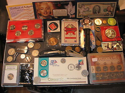 A Superb Lot Of Tokens-Medals-Coins & Other Collectibles#32