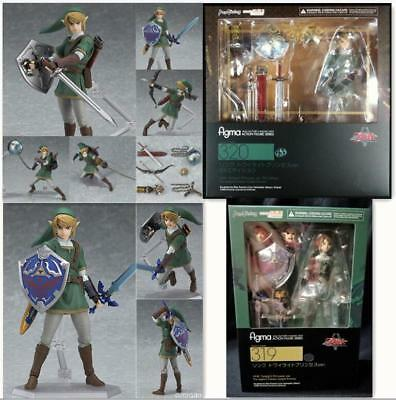 Figma 319   320 The Legend of Zelda LINK Twilight Princess Figure New In Box