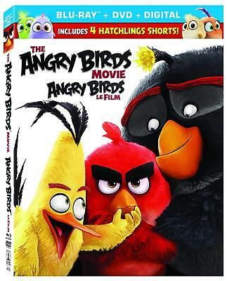 The Angry Birds Movie (Blu-ray Disc, 2016, 2-Disc Set, Canadian Bilingual)