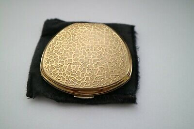 Vintage Stratton Gold Coloured Ladies Powder Compact