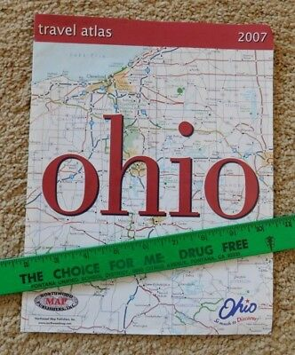 Ohio State Travel Atlas - 1 Usa Map - Dated 2007