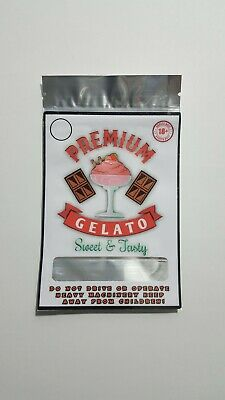 Mylar Bag Covers (gelato) 9×11 cm