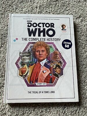 DOCTOR WHO THE COMPLETE HISTORY ISSUE 50 VOLUME 42. New Sealed